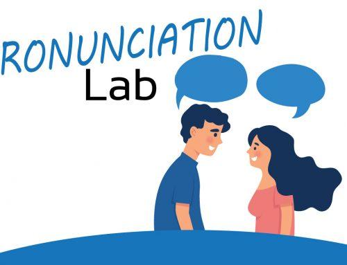Pronunciation Lab